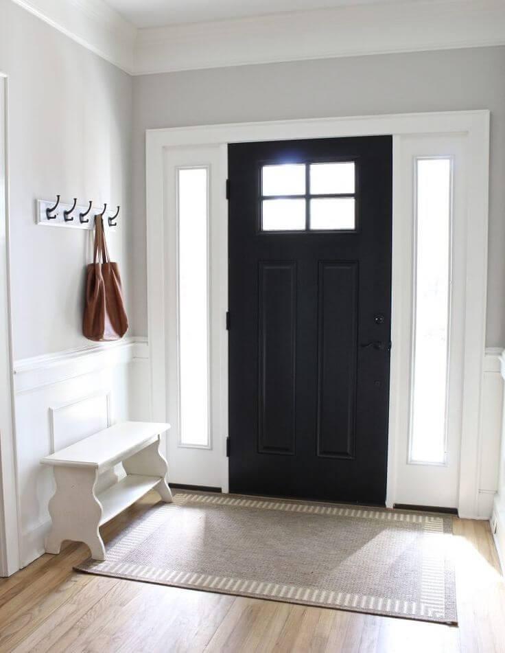 Черна Входна Врата за дома